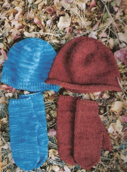 Knitting Pure and Simple #223 Basic Hat & Mitten Set Kit - Hats and Gloves