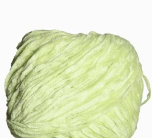 Crystal Palace Cotton Chenille Yarn - 1240 - Limeade (Discontinued)