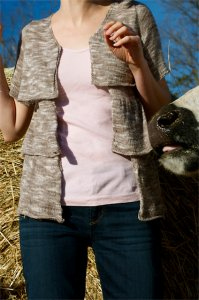 Juniper Moon Farm Findley Dappled Olscamp Cardigan Kit - Women's Cardigans