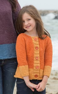 Classic Elite Yarns McKenzie Child's Cardigan Kit - Baby and Kids Cardigans