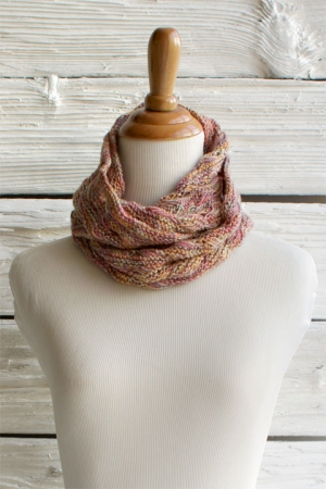 Manos del Uruguay Serena Signs of Spring Cowl Kit - Scarf and Shawls