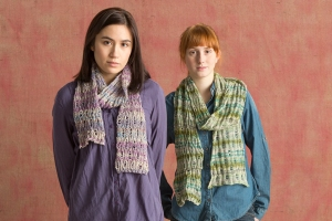 Classic Elite Bella Lino Drop Stitch Scarf Kit - Scarf and Shawls