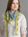 Classic Elite Sprout Two-Color Scarf Kit