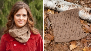 Classic Elite Vista Lacy Rib Cowl Kit - Scarf and Shawls