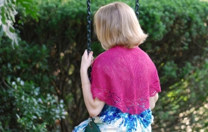 Classic Elite Firefly Dayflower Shawl Kit - Scarf and Shawls