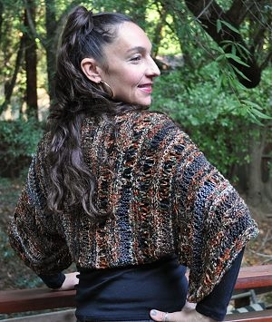 Crystal Palace Aria Wrap and Drop Shrug Kit - Women's Cardigans