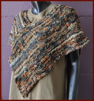 Crystal Palace Yarns Aria Poncho Kit - Women's Accessories