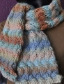 Crystal Palace Yarns Chunky Mochi Woven Cable Scarf