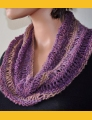 Crystal Palace Yarns Danube Dk Drop Stitch Cowl Kit