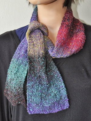 Crystal Palace Yarns Danube Dk Block Weave Scarf Kit - Scarf and Shawls