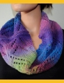 Crystal Palace Yarns Danube Bulky Diamond Lace Cowl Kit