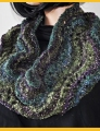 Crystal Palace Yarns Gold Rush Fan Stitch Cowl