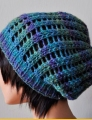 Crystal Palace Yarns Gold Rush Treasure Slouch Hat