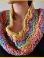 Crystal Palace Yarns Gold Rush Easy Peacock Cowl Kit