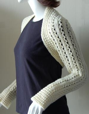 Crystal Palace Yarns Merino 5 Lace Rib Shrug Kit - Women's Accessories