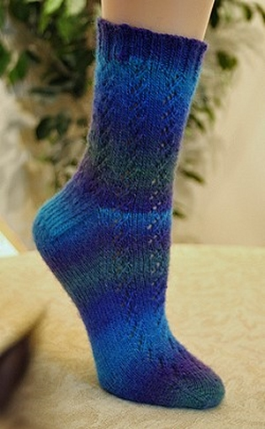 Crystal Palace Yarns Mini Mochi Waterfall Socks Kit - Socks