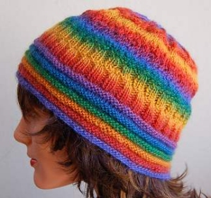 Crystal Palace Yarns Mini Mochi Rainbow Hat Kit - Hats and Gloves