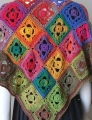 Crystal Palace Yarns Mini Mochi Flower Garden Shawl Kit