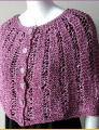 Crystal Palace Yarns Party Capelette in Garter-Lace Kit