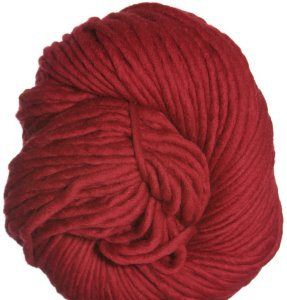 Brown Sheep Burly Spun Yarn - 180 Ruby Red