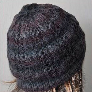 Crystal Palace Yarns Sausalito Smokey Cables and Lace Hat Kit - Hats and Gloves