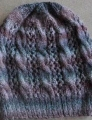 Crystal Palace Yarns Sausalito Smokey Cables and Lace Hat Kit