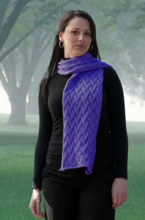 Cascade Yarns Avalon Grapevine Wrap Kit - Scarf and Shawls