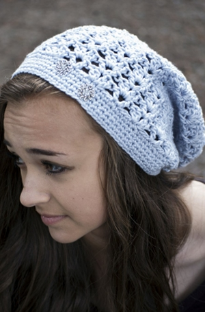 Cascade Yarns Avalon Summer Slouch Hat Kit - Crochet for Adults
