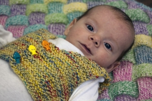 Cascade Yarns Bentley My First Vest Kit - Baby and Kids Vests