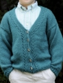 Cascade Yarns Cherub Aran Cardigan Kit