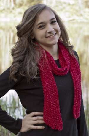 Cascade Yarns Cherub Aran Sparkle Bling Scarf Kit - Scarf and Shawls