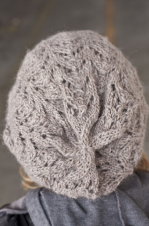 Cascade Yarns Eco Highland Duo Fishtail Lace Slouch Hat Kit - Hats and Gloves