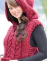 Cascade Yarns Magnum Hooded Vest Kit