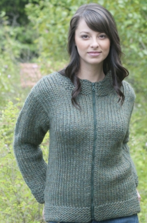Cascade Yarns Magnum Women's Jacket Kit - Women's Cardigans
