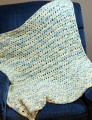 Cascade Yarns Pluscious Baby Shells Baby Blanket Kit