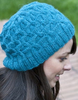 Cascade Yarns Pure Alpaca Half-Cable and Triangle Hat Kit - Hats and Gloves