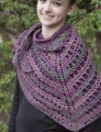 Cascade Yarns Tangier Sweet Tea Shawl Kit