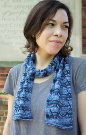 Cascade Yarns Ultra Pima Paints Lacy Scarf Kit - Scarf and Shawls