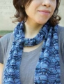 Cascade Yarns Ultra Pima Paints Lacy Scarf