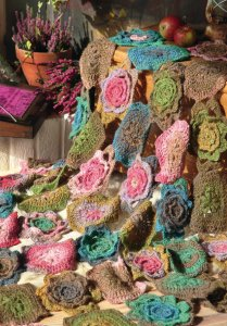 Noro Silk Garden Lite Summer Garden Throw Kit - Crochet for Home