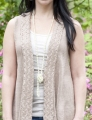 Cascade Yarns Ultra Pima Amalfi Shawl Vest Kit