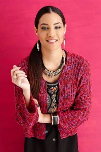 Lorna's Laces Solemate Cropped Jacket Kit - Crochet for Adults