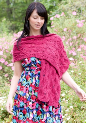 Cascade Yarns Venezia Sport Celebrate Spring Wrap Kit - Scarf and Shawls