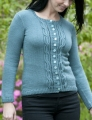 Cascade Yarns Venezia Sport Twisted Grapes Cardigan Kit