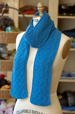 Hikoo Yarns CoBaSi Reversible Scarf Kit - Scarf and Shawls