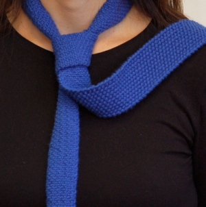 Hikoo Yarns Simpliworsted Linen Stitch Tie Kit - Women's Accessories