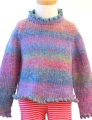 Hikoo Simpliworsted Marl Kittenish Girl's Sweater Kit