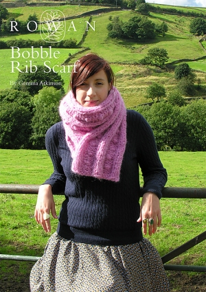 Rowan Tumble Bobble Rib Scarf Kit - Scarf and Shawls