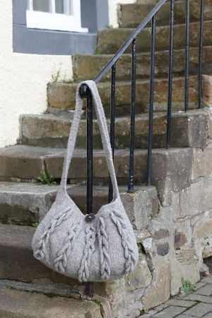 Rowan British Sheep Breeds Boucle Harbour Bag Kit - Women's Accessories