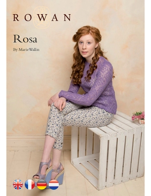 Rowan Fine Lace Rosa Kit - Women's Pullovers